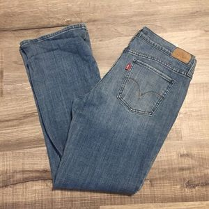 Levi's 515 high rise bootcut jeans. Size 12
